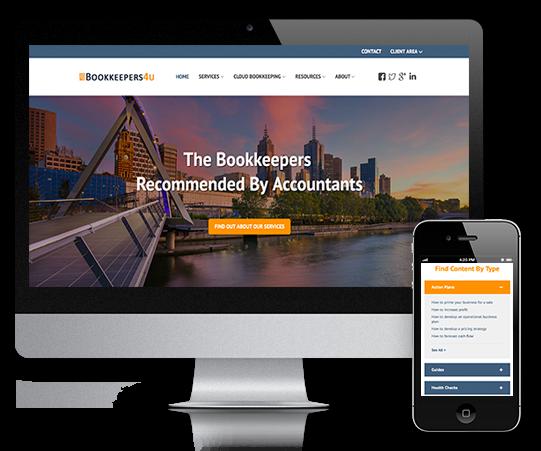 Bookkeepers4U brand new website