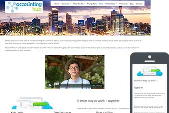 Accounting Hub - Website for Accountants by Bizink