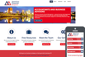 American Financial - Websites for Accountants by Bizink