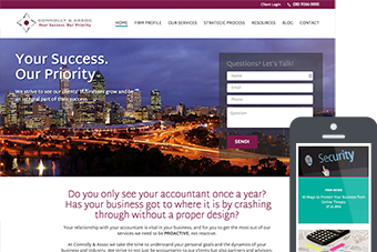 Connollys - Websites for Accountants by Bizink