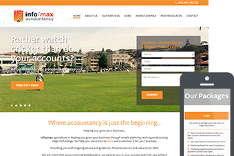 info/max - Websites for Accountants by Bizink