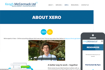 Keogh McCormack - Websites for Accountants by Bizink