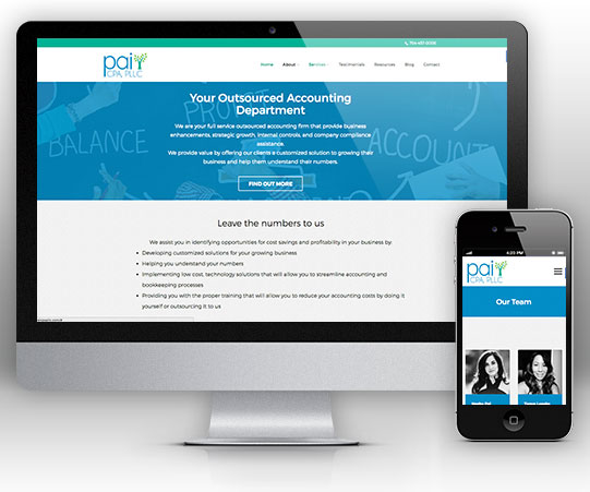 Pai CPA - Websites for Accountants by Bizink