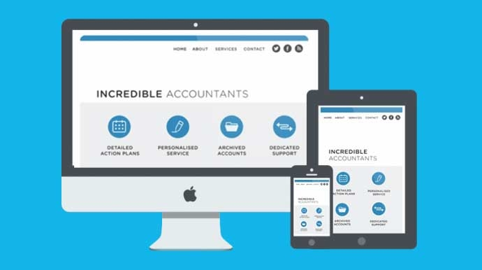 Website content for accountants