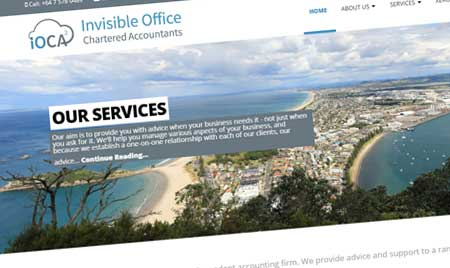 Website for Invisible Office